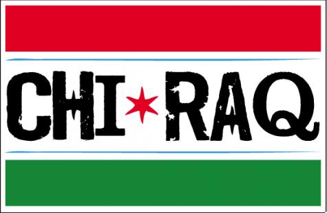 An artist interpretation of a CHIRAQ Flag
