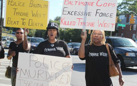 Protest for the Death of Tyrone West Aim to Alert Morgan Community