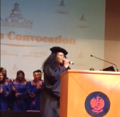 Maysa Leak Headlines Honors Convocation