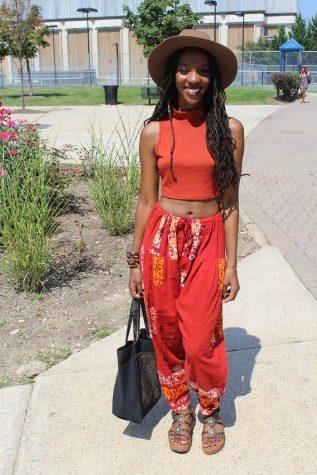 TeneA, sophmore, Fashion Merchandising major