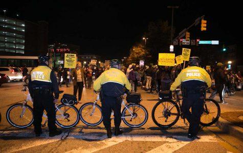 Morgan Students Protest Ferguson Across the City