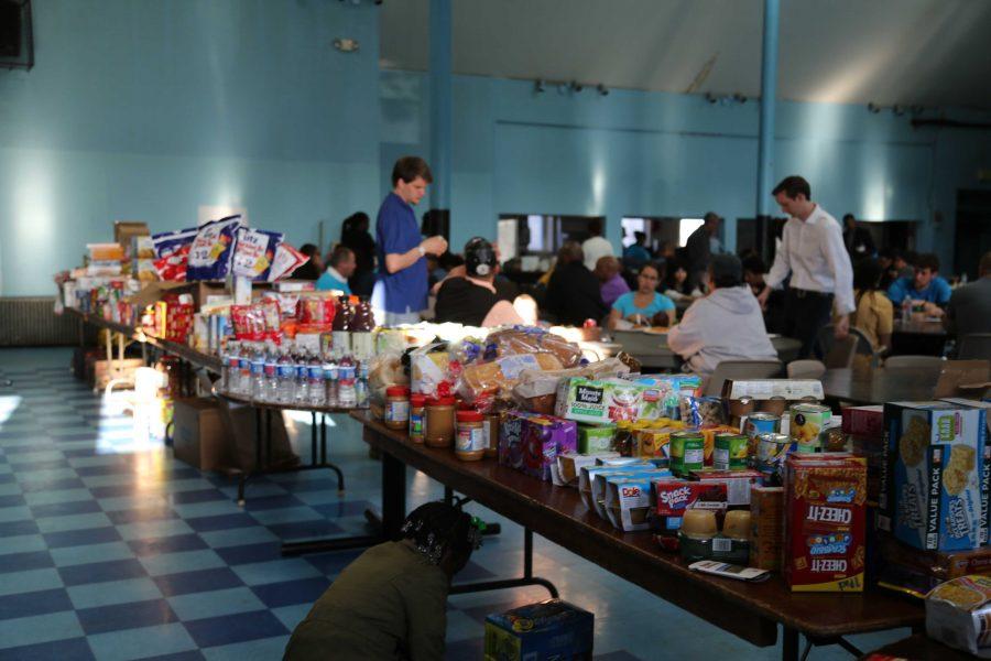Two community organizations conduct food drive in Sandtown neighborhood