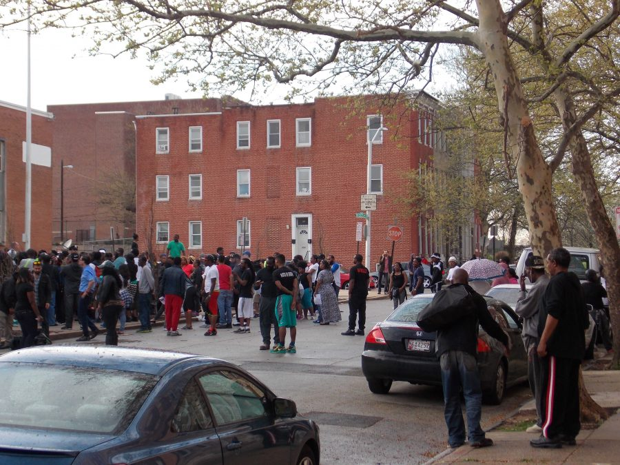 Baltimore Residents Demand Answers for Freddie Grays Death