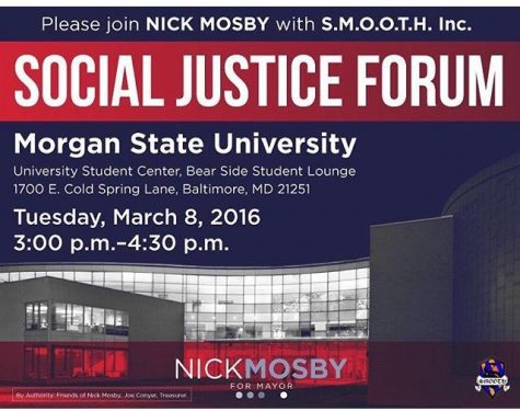 Baltimore mayoral candidate stops at MSU for Social Justice Forum