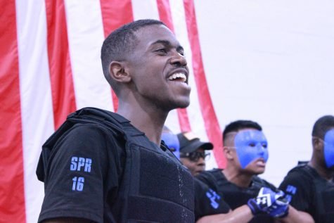 The National Society of Pershing Rifles Spring 2016 probate in Turner