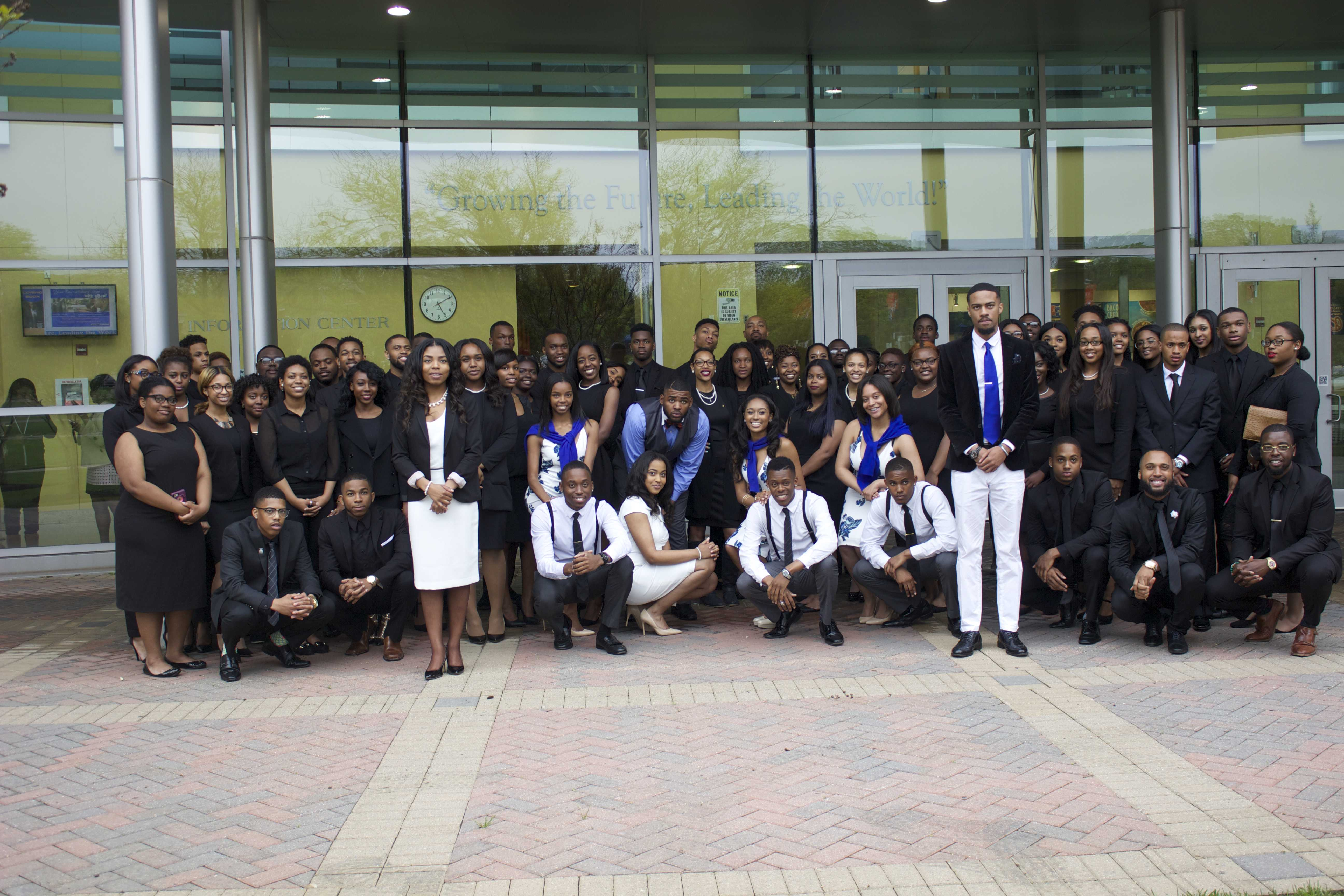 The 2016-2017 Student Government Association at Inauguration. Dreamteam Administration. Photo credit: Tramon Lucas, Managing Editor