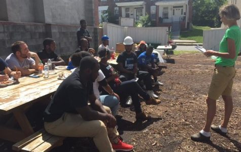Students honor day of service with Habitat for Humanity