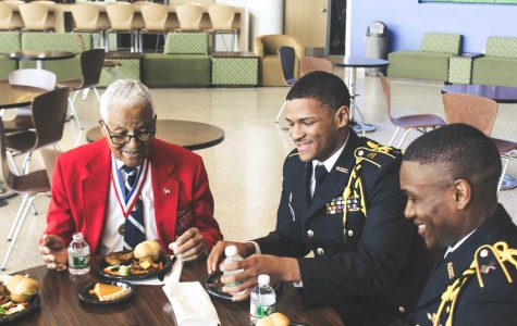 Morgan hosts Tuskegee Airman for symposium [Lookbook]