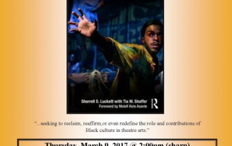Theatre Morgan Presents: Sharrell D. Luckett