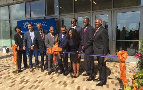 Morgan State celebrates the west campus expansion with the grand opening of the new Jenkins Hall