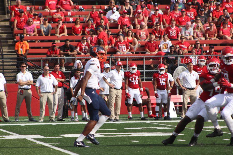 Morgan State Bears taken on Rutgers earlier in the season.