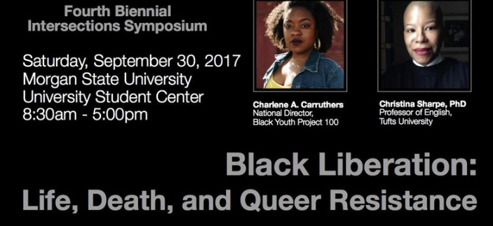 Details on the event 'Black Liberation: Life, Death, and Queer Resistance'