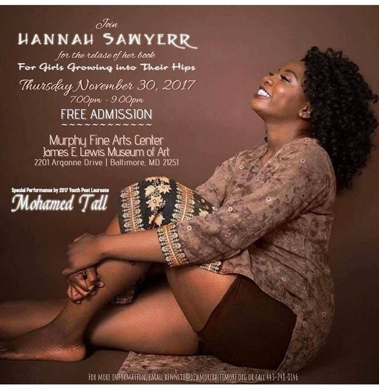 Morgan States Hannah Sawyerr releases her long anticipated book of poems reflecting her own experiences