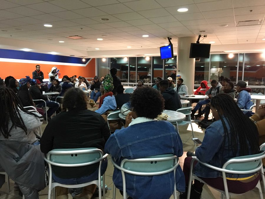 Morgan State University students take a stand against poor food quality on campus
