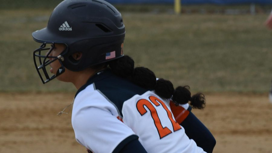 Lady Bears softball player steals school's career record