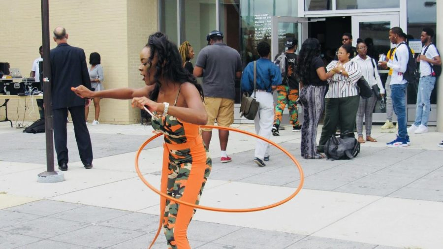 Morgan State University's first day looks