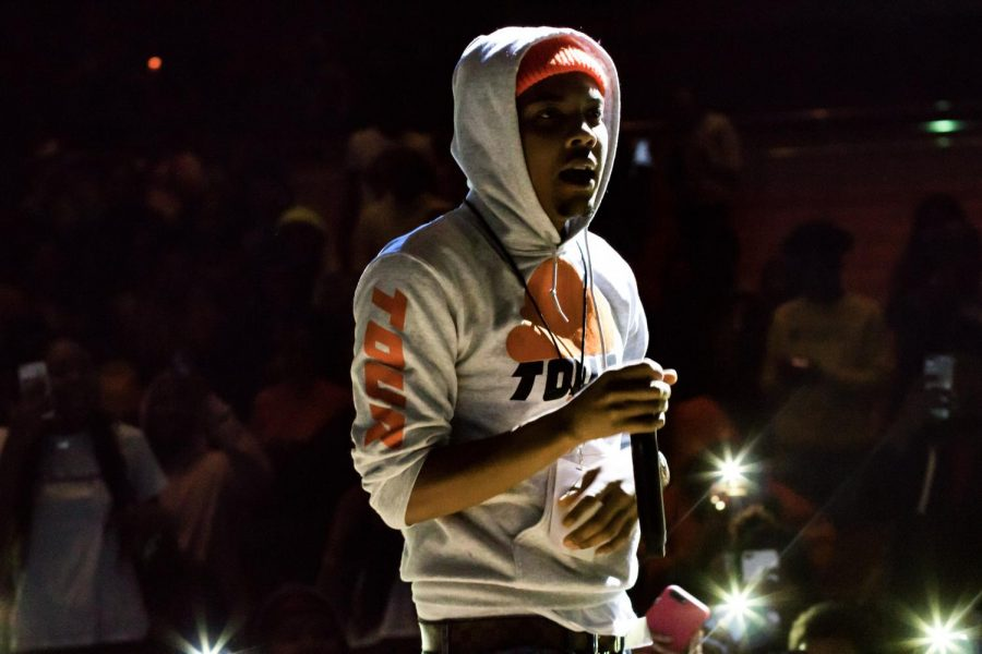 Rapper G Herbo, who performed at the I Love Morgan Concert in 2018, took the Morgan stage again six months later.