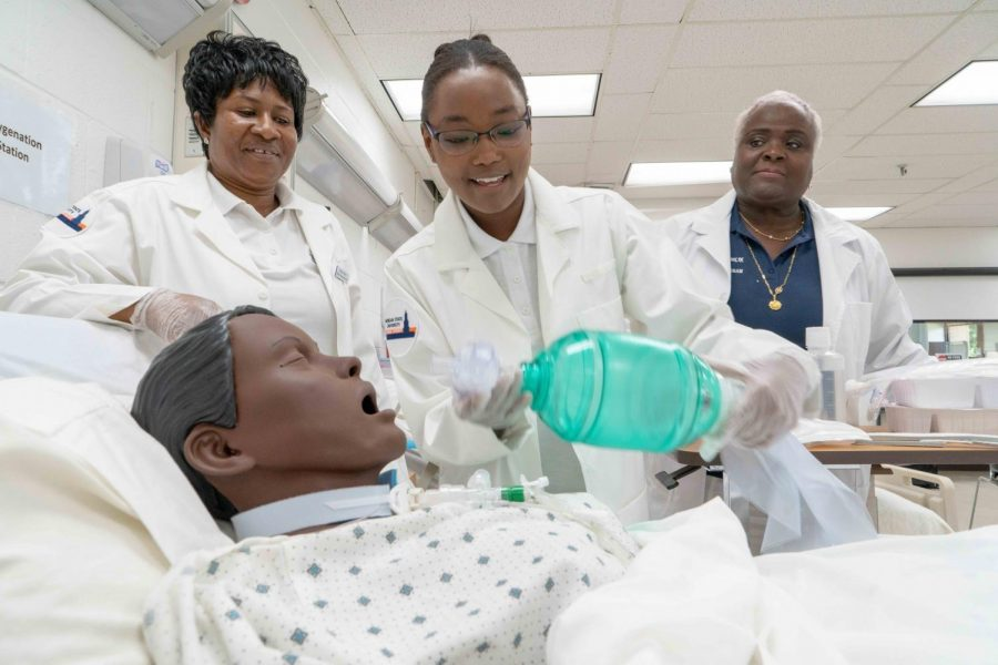 Morgan nursing grads pass with 100 percent on National