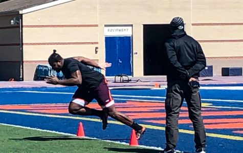 Highlights from Morgan State University's Pro Day