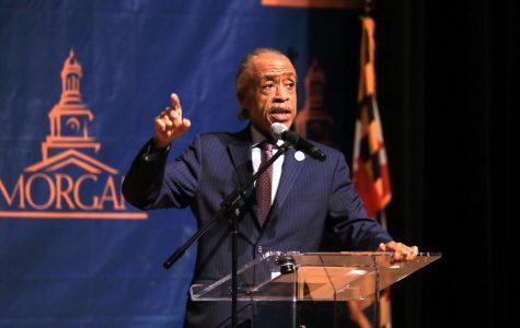 Rev. Al Sharpton discusses the state of civil rights at Morgan