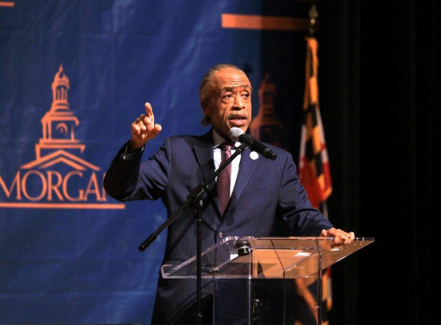 Rev.+Al+Sharpton+discusses+the+state+of+civil+rights+at+Morgan