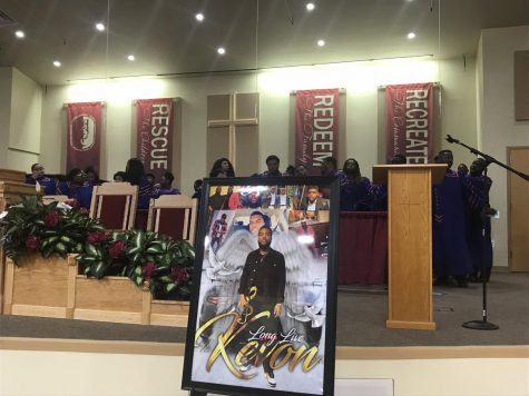 Family, friends and students gathered to remember Marcus Edwards