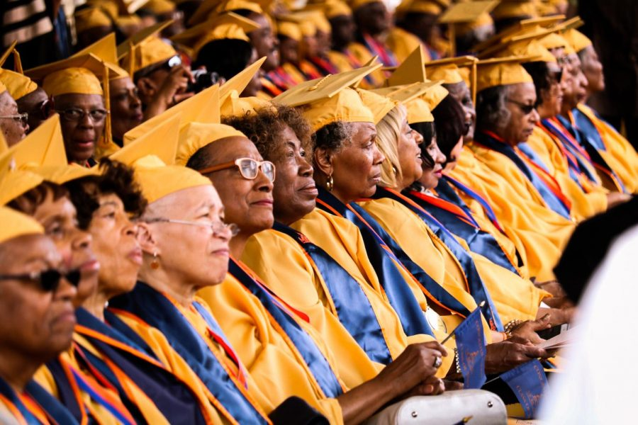 Scenes from spring commencement 2019