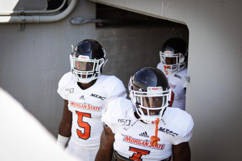 Morgan State Bears prepare for first home game: new turf, same team