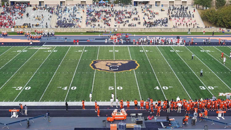 Morgan State University's Hughes Football Stadium.