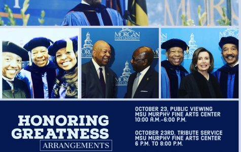 Rep. Elijah Cummings' body to lie in repose at Morgan's Murphy Fine Arts Center