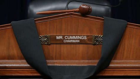 Baltimore politicians and officials reminisce on Cummings' life and legacy during service at Murphy