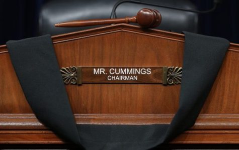 Rep. Elijah Cummings served as the Chair of the Committee of Oversight and Reform.