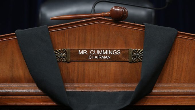 Rep.+Elijah+Cummings+served+as+the+Chair+of+the+Committee+of+Oversight+and+Reform.+