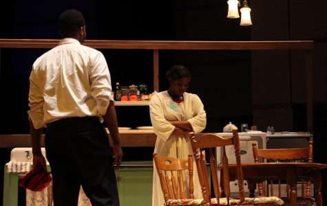 Actors KayVonya Moore and Dominic Marine star in August Wilson's