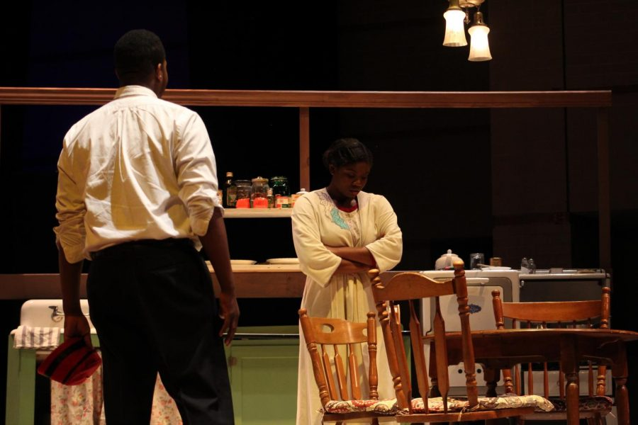 Actors+KayVonya+Moore+and+Dominic+Marine+star+in+August+Wilson%27s+%22The+Piano+Lesson%2C%22+a+play+Theatre+Morgan+presented+at+Murphy+Fine+Arts+Center+in+March.