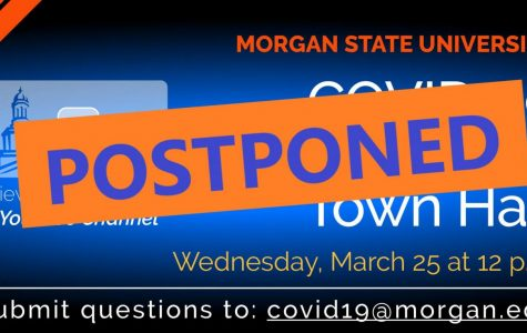 University President David Wilson postpones virtual town hall
