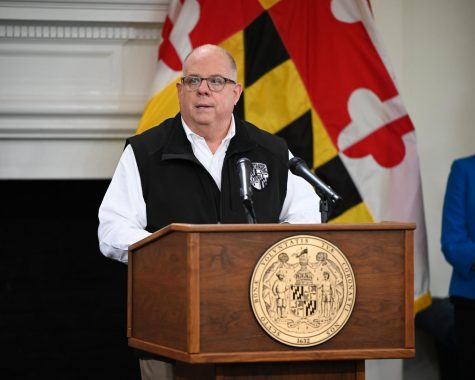 Gov. Larry Hogan during wednesday