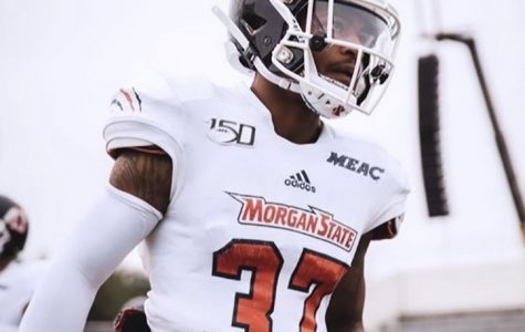 Jordan Cofield was a wide receiver for the Morgan State Bears.