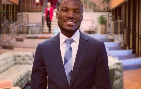 Stanley Nwakamma is a senior electrical and computer engineering major.