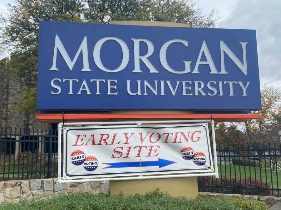 Morgan State University became an early voting site in September (Onya)