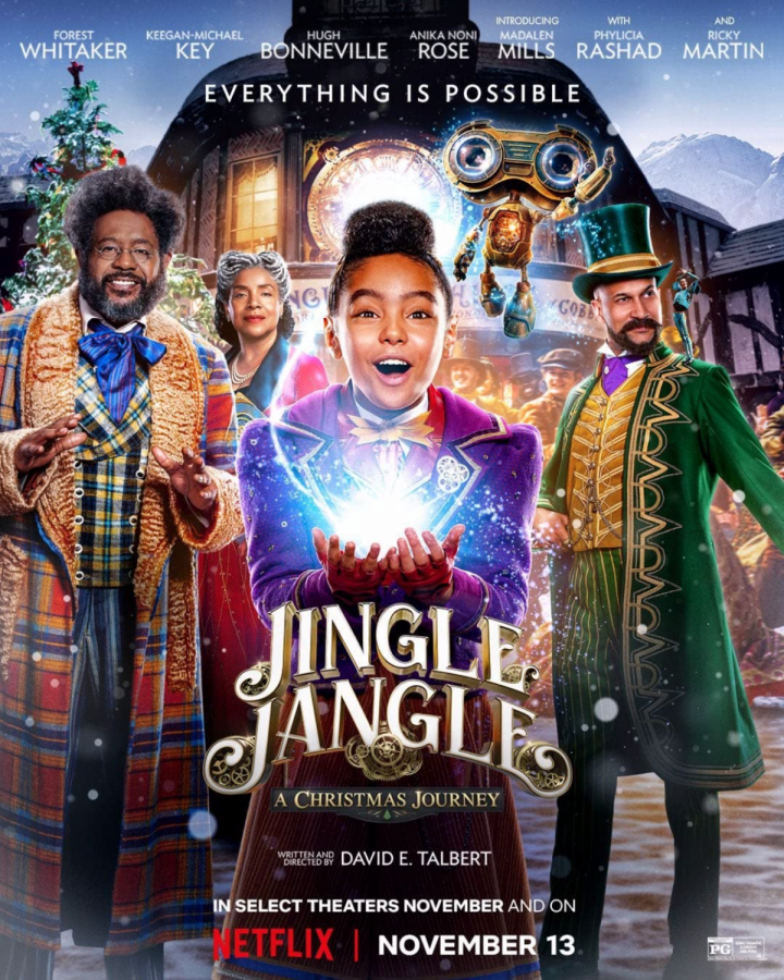 Morgan State Alumnus responsible for Upcoming Netflix Film, 'Jingle Jangle: A Christmas Journey'