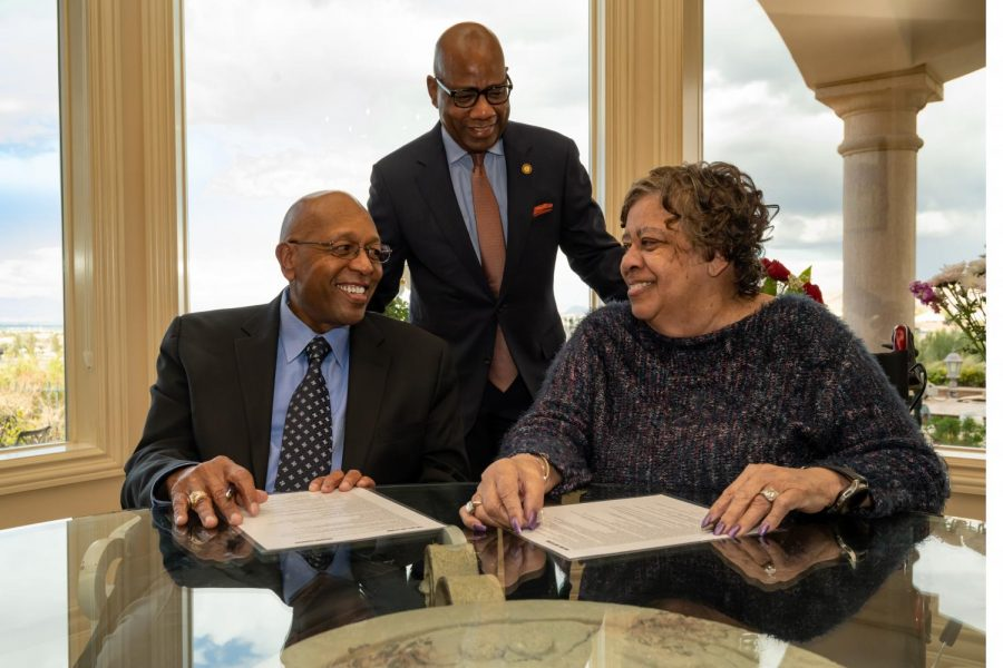 Calvin, Tina Tyler donate $20 million towards Morgan scholarship fund