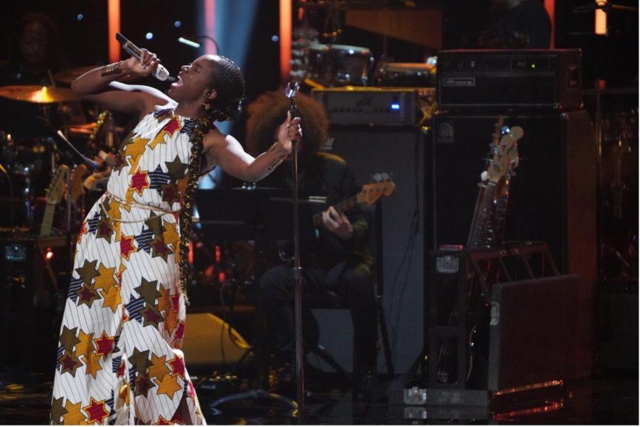 Funmike+Lagoke+performs+on+American+Idol+