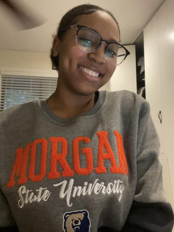 Hope Hardin will be attending Morgan State in the fall and majoring in social work.