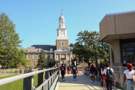 Morgan kicked off the 2021-2022 academic school year with a fully reopened campus.