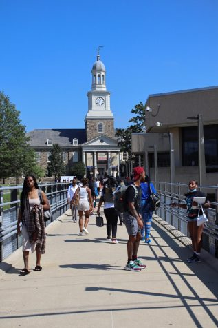 Morgan State University welcomed the student body back to campus for the first time since March 2020.