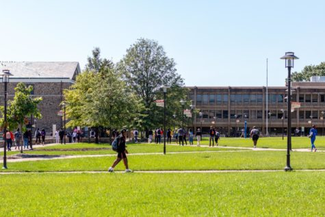 393 students and 109 faculty members were tested, and two students tested positive.