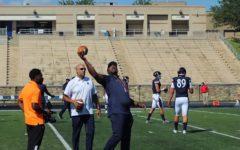 Head football coach Tyrone Wheatley is determined to make Morgan a winning program again.