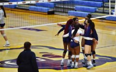 Morgan States volleyball team faced Georgetown in a scrimmage Aug. 20.
