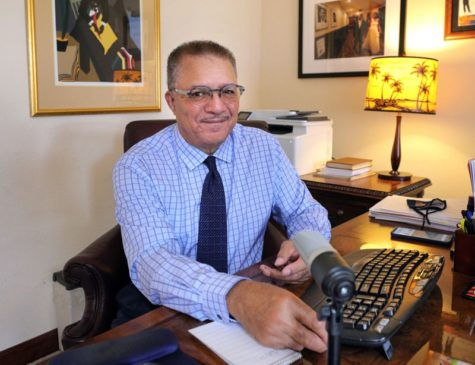 DeWayne Wickham discusses the foundation of the School of Journalism and Communication
